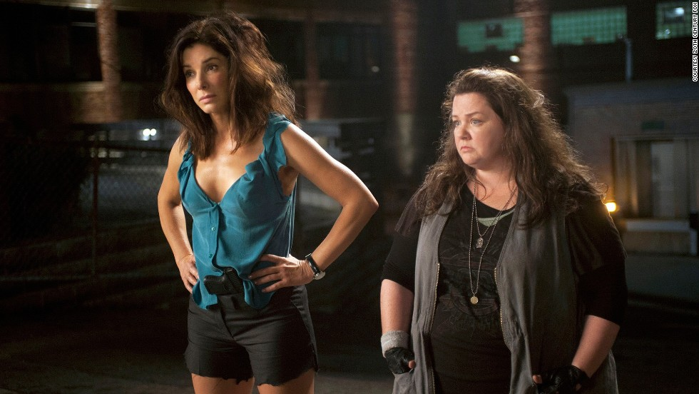 """If two officers, agents or other unlikely buddies are paired, they must not like each other from the start. But don't worry, the love will come. Such is the case with Sandra Bullock and Melissa McCarthy's characters in """"The Heat."""""""