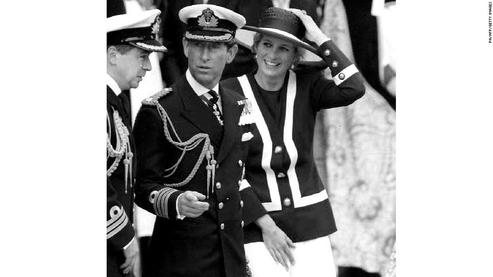 "Two of those foreign dignitaries to jump aboard the Spanish royal family's yacht were Prince Charles and Princess Diana in 1990. But the British royals weren't without their own luxury vessel. Here, the pair are pictured celebrating their honeymoon on ""Her Majesty's Yacht (HMY) Britannia"" in 1981."