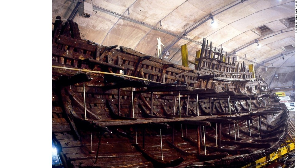 After more than 400 years at the bottom of the ocean, the<em> </em>Mary Rose, King Henry VIII's key warship, is the centerpiece of a new museum in Portsmouth, England, located at the same dockyard where it was built.