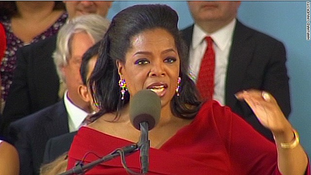 Oprah to grads: Learn from every mistake