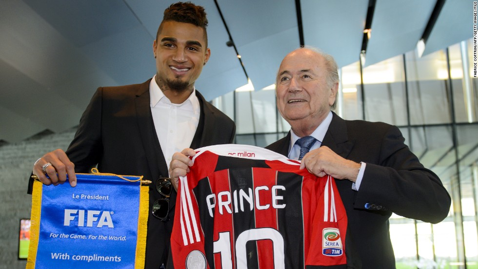 Boateng's walk-off prompted the game's governing body to act and FIFA president Sepp Blatter invited the midfielder to sit on a task force dedicated to tackling racism in football. A raft of reforms have now been passed that could see teams relegated or expelled from competitions.