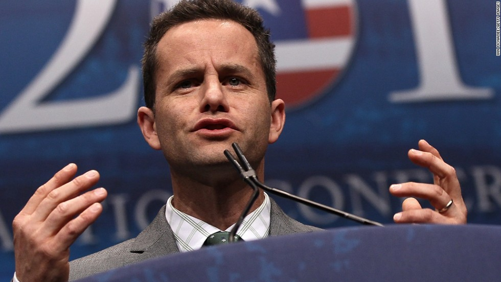 "Best known for his role as Mike Seaver on ""Growing Pains,"" Kirk Cameron is now a 41-year-old father of six and a reborn Christian. Since his faith deepened, he starred in the book-inspired movie series ""Left Behind"" about people surviving the apocalypse after God raptured Christians to heaven. He <a href=""http://piersmorgan.blogs.cnn.com/2012/03/02/kirk-cameron-on-homosexuality-its-detrimental-and-ultimately-destructive"" target=""_blank"">has spoken staunchly</a> about his belief in traditional marriage."