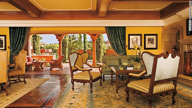Six-large gets you lots of European antiques at the Mediterranean-inspired Brisa Villas at San Diego's Grand Del Mar.