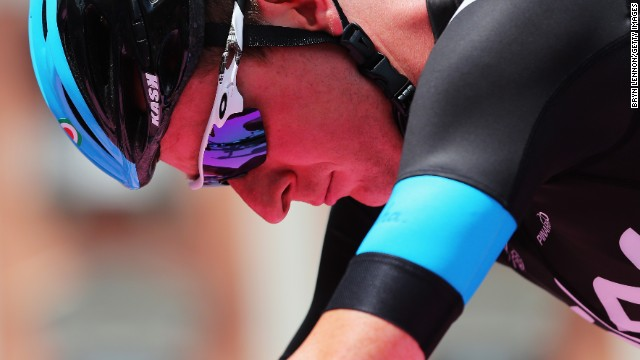 Team Sky's Bradley Wiggins withdrew from the Giro d'Italia earlier this month.