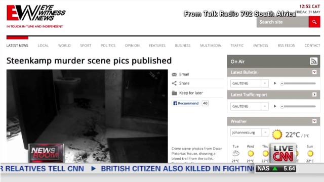 Steenkamp crime scene pictures published
