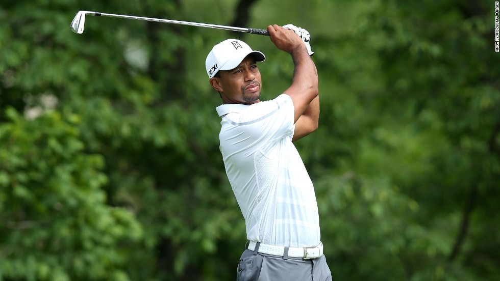 Tiger Woods endured a difficult third round of the Memorial Tournament at Muirfield Village in Dublin, Ohio.