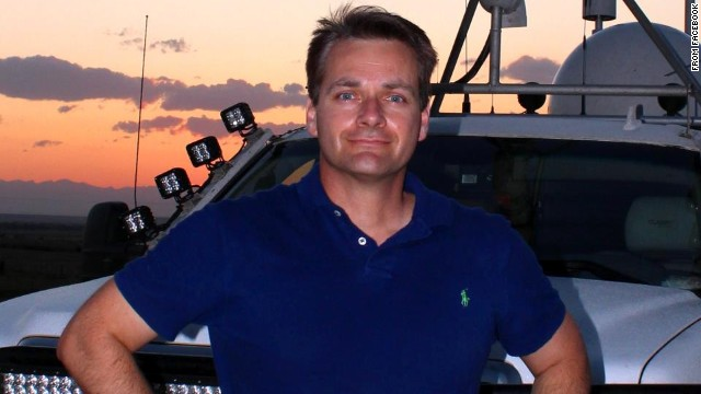 TWISTEX team member Carl Young was killed on Friday, along with Tim and Paul Samaras, while chasing a tornado.