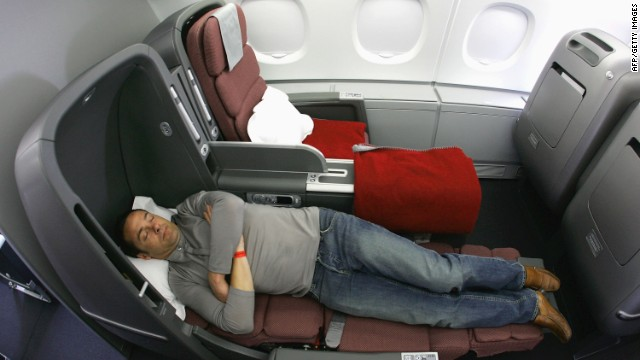 Get some rest: Gaining and using reward points from airlines can be a long and arduous business.
