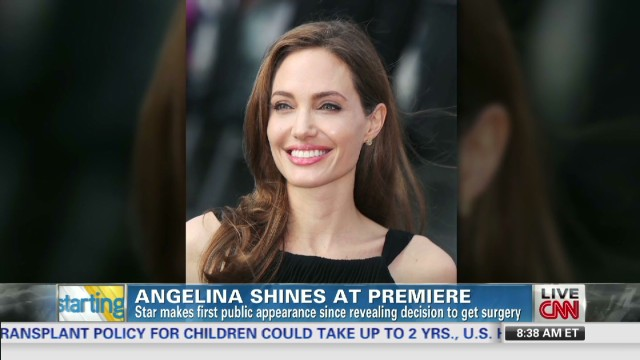 Medical aspects of Jolie's recovery