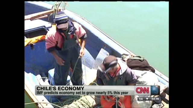 exp President of Chile talks economy_00002001.jpg