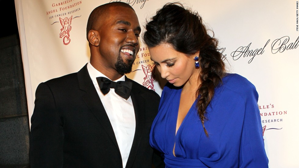 "Just 'cause we like it and this pic of West and Kardashian attending the Angel Ball 2012 in October 2012 in New York, we are going to throw the name ""Angel West"" out there."