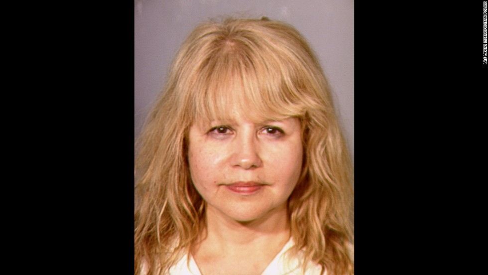 "<a href=""http://www.cnn.com/2013/06/03/showbiz/pia-zadora-arrest/index.html"">Singer-actress Pia Zadora</a> was charged with domestic violence battery and coercion for allegedly scratching her 16-year-old son's ear as she tried to take his cell phone when he dialed 911 on June 1, 2013, according to a Las Vegas Metropolitan Police report."