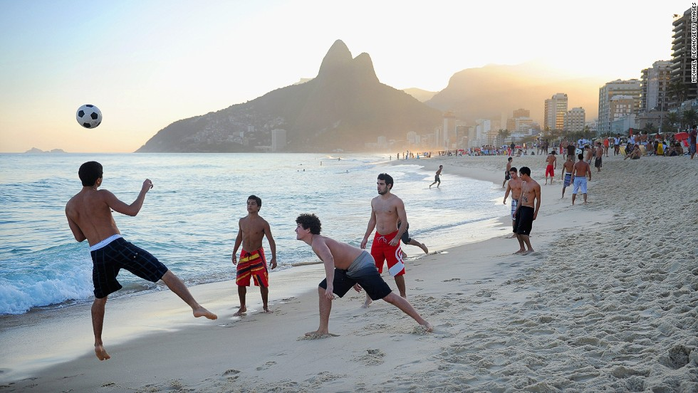 Of Rio's  famed Zona Sul beaches, Ipanema is a classic choice.