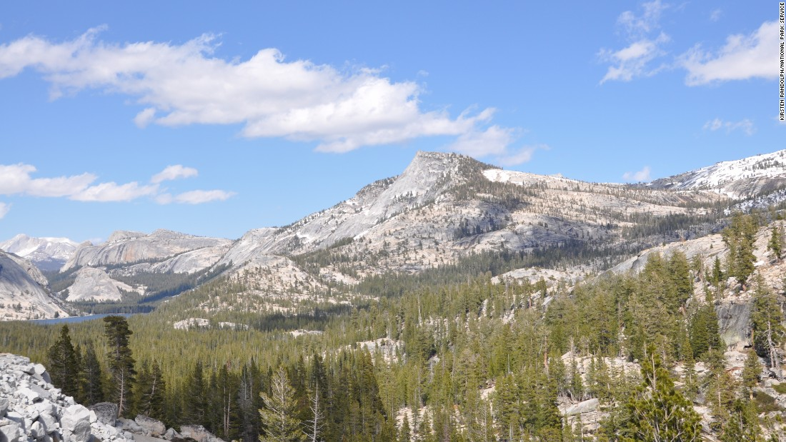 Yosemite National Park is one of the country's iconic national parks, with more than 4 million visitors annually. Visitors with limited time should try to see Olmsted Point, shown here along Tioga Road, looking east toward Tenaya Lake. Click through the gallery to see more stunning views of the park.