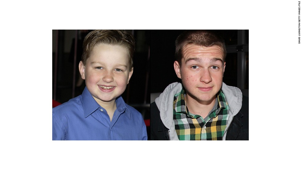 "Angus T. Jones, estrella infantil de ""Two and a Half Men""."