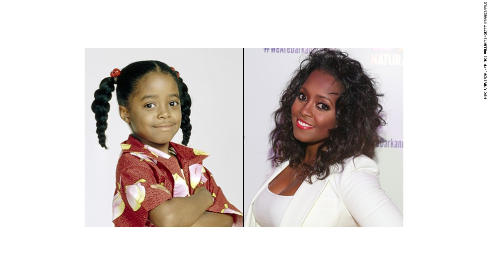 "Keshia Knight Pulliam, estrella infantil de ""The Cosby Show""."