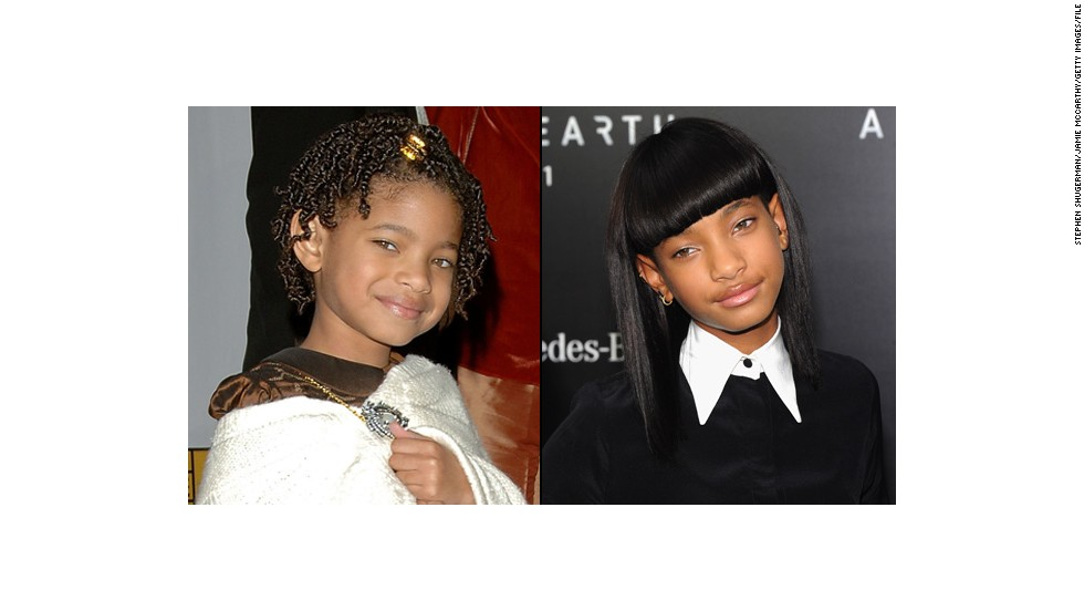 "Willow Smith, hija de Will Smith, apareció en ""I Am Legend""."