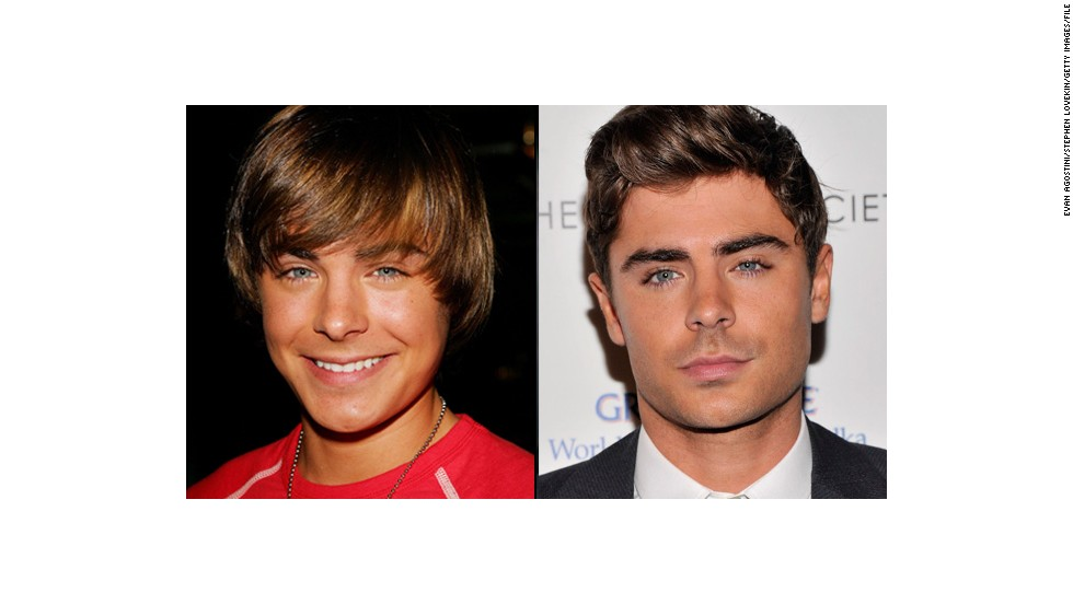 "Zac Efron, estrella infantil de ""High School Musical""."