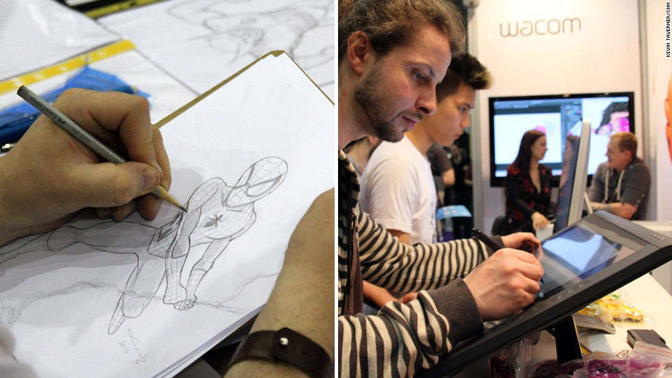 Digital drawing is a trend, where the traditional sketch book and pencil have been replaced by new devices like digital drawing pads and graphics tablets.