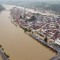 Floods Europe aerial