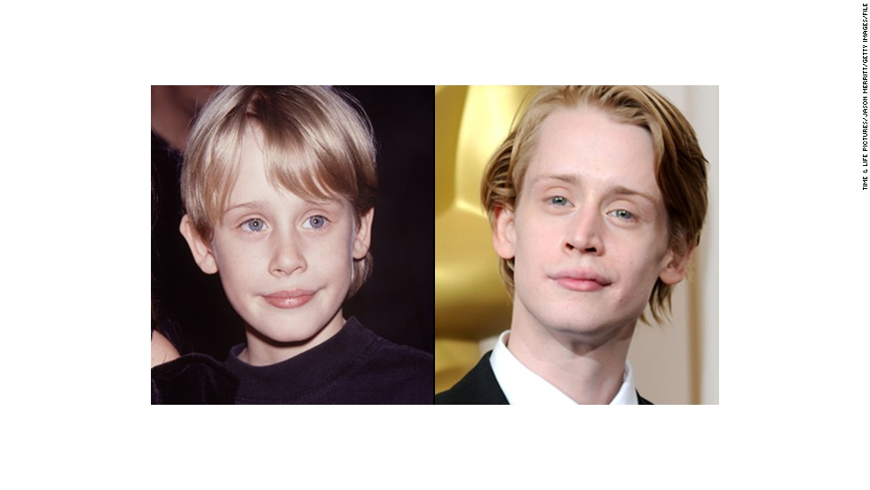 "Macaulay Culkin estrella infantil de ""Home Alone"" y ""My Girl""."
