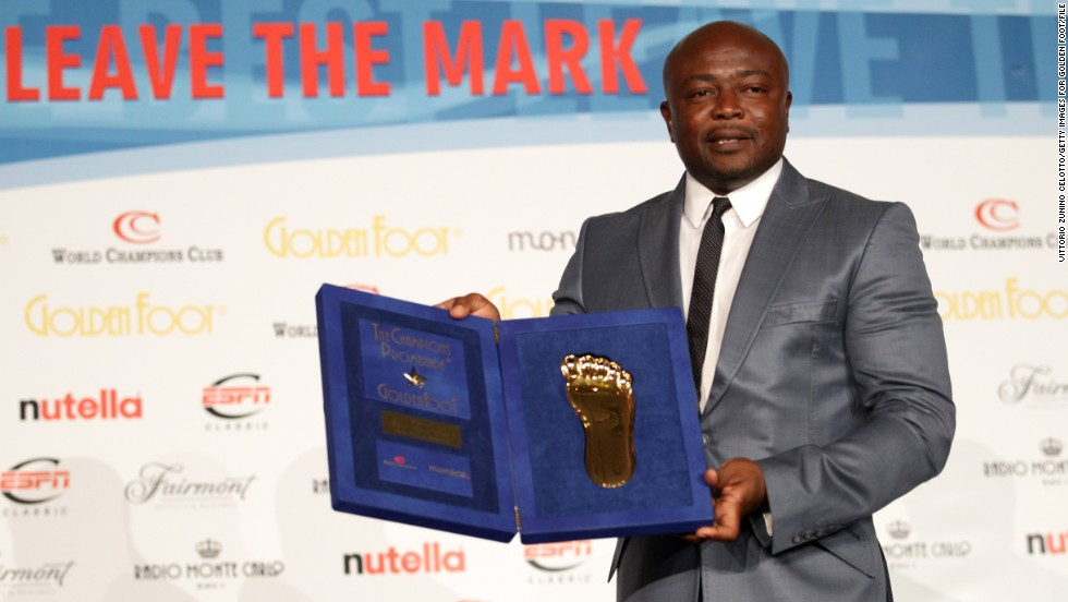 """Ghanaian legend Abedi """"Pele"""" Ayew is one of Africa's football pioneers, renowned for his dazzling footwork and nimble athleticism."""