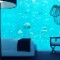 underwater hotel bedroom