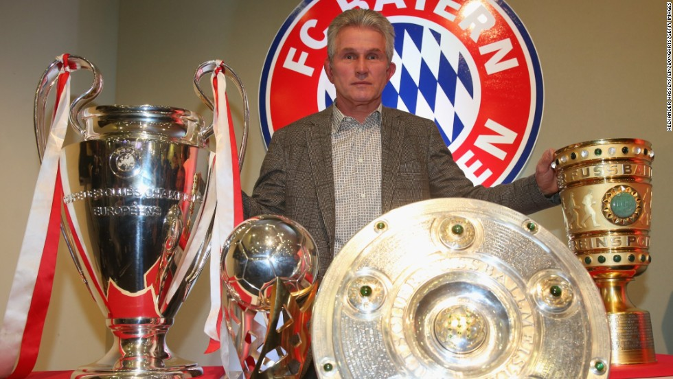 While Ribery shone on the pitch for Bayern, Jupp Heynckes masterminded their success from the dugout. The veteran German was replaced by Josep Guardiola after leaving Bayern in May.