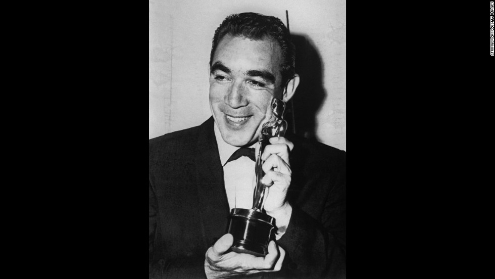 "Born Antonio Rodolfo Quinn-Oaxaca, Anthony Quinn was a two-time Academy Award-winning Mexican American actor best known for his roles in ""Viva Zapata!"" in 1952 and ""Lust for Life in 1956."""