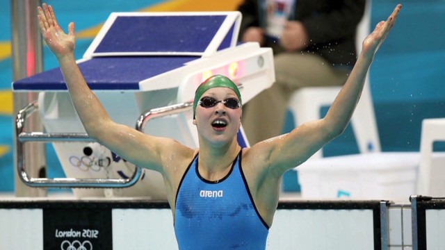 Teen swimming sensation: I hate losing