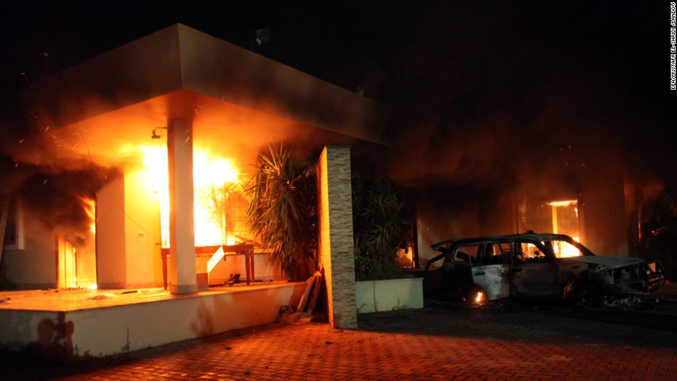 U.S. Ambassador to Libya John Christopher Stevens and three other Americans were killed in an attack on the U.S. consulate in Benghazi, Libya.