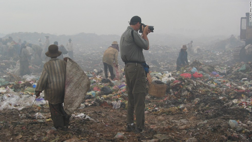 "Haunted by what he saw at the dump, Bill Smith started taking photos. ""I remember thinking, 'I got to take pictures as fast as I can to show people this,' "" the professional photographer recalls."