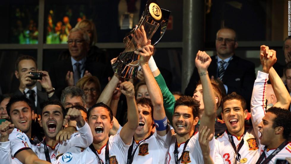 Spain won the last European Under-21 Championship, held in Denmark in 2011. Luis Milla's team beat Switzerland 4-0 in the final, with players such as Bayern Munich midfielder Javi Martinez and Chelsea playmaker Juan Mata starring for La Roja.