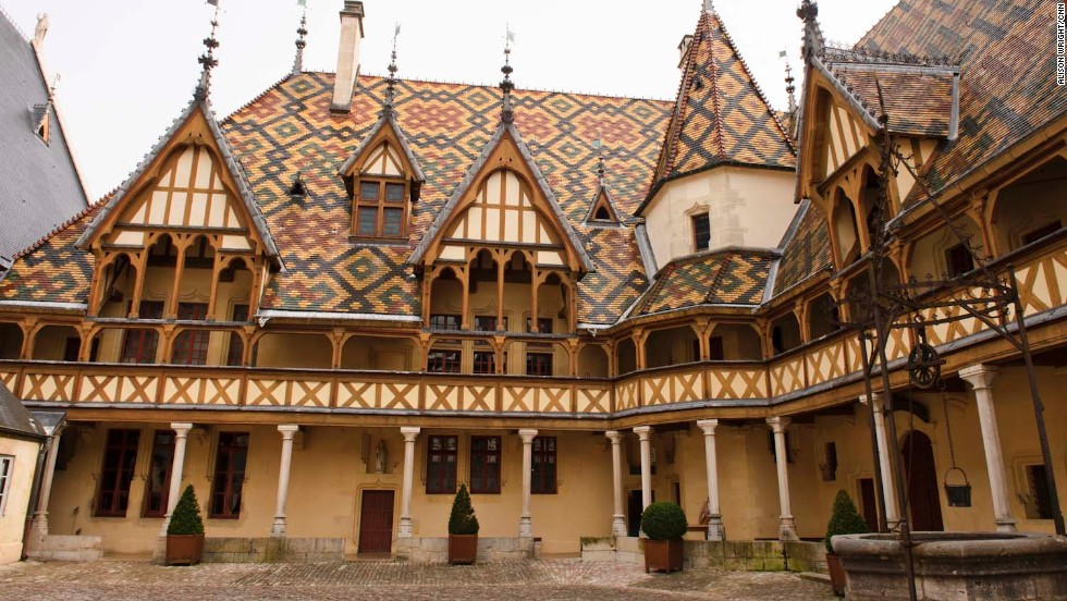 Another great day excursion: a visit to the Hospice de Beaune, which was built in 1443 and is one of the finest examples of French 15th-century architecture.