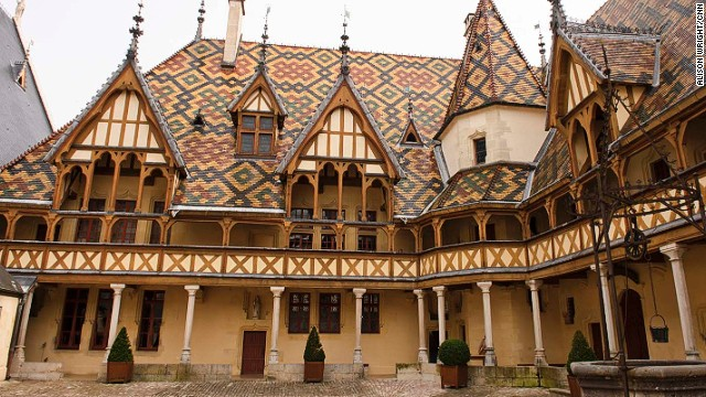 The Hospice de Beaune: an architectural marvel.