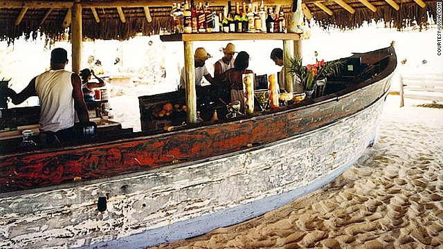 You haven't had a proper caipirinha till you've had one out of a reclaimed fishing boat in Brazil.