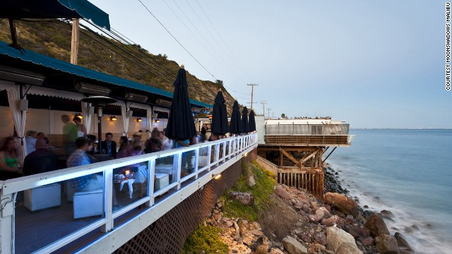There are lots of beach bars on California's Pacific Coast Highway, but only one Moonshadows.