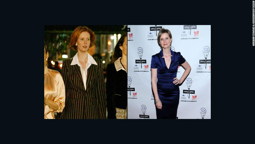 "Cynthia Nixon's Miranda Hobbes was a bit of a workaholic, and the actress has showed similar stamina. She has steadily worked on stage and screen, even appearing as herself on an episode of ""30 Rock."""