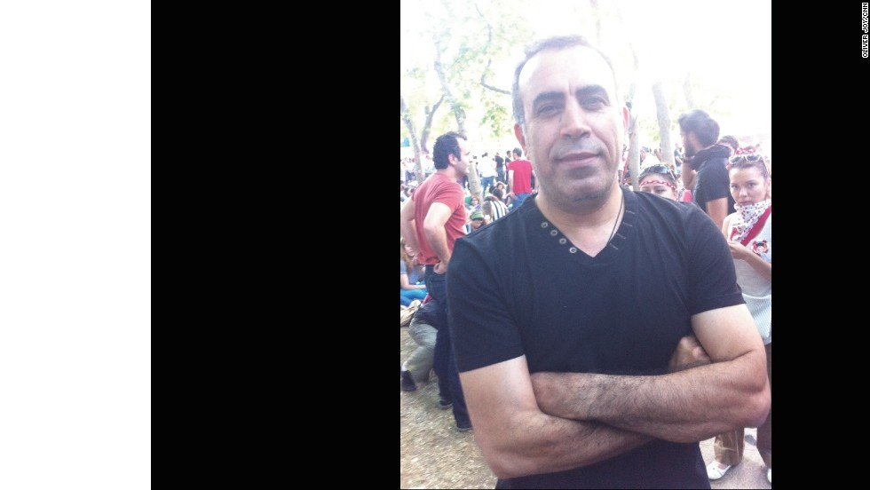 Rock star and environmentalist Haluk Levent, 44, believes it's about time that  Erdogan listened to the concerns of the country's young people.