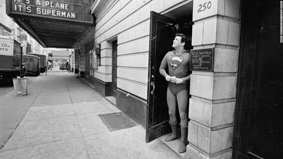 "Bob Holiday takes Superman to Broadway in 1966, starring in the musical ""It's a Bird It's a Plane It's Superman!"""
