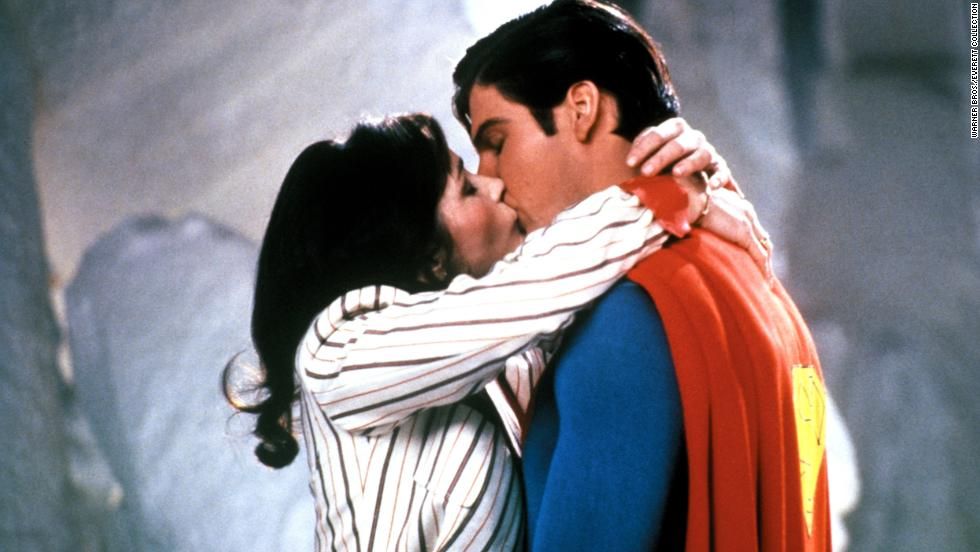 "In 1980, Reeve costars with Margot Kidder, Superman's love interest, Lois Lane, in ""Superman II."""