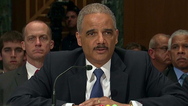 Holder: We won't prosecute reporters