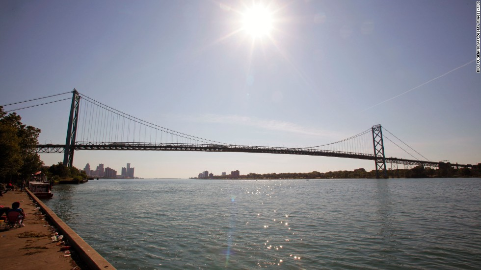 The nearby Ambassador Bridge -- whose owners have logged legal challenges to construction of the NITC -- is responsible for 25% of all trade between Canada and the U.S., according to the bridge operator's website.