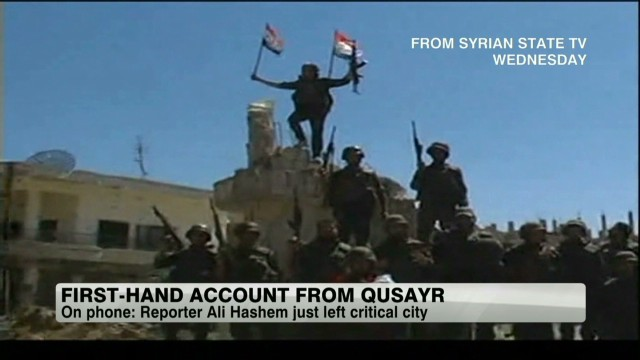 First-hand account from inside Qusayr