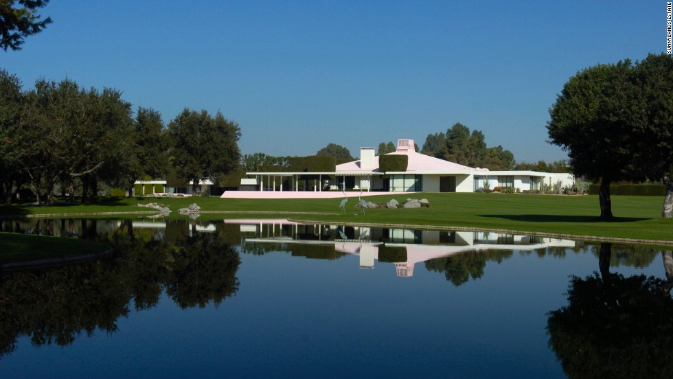 The estate includes a 25,000-square-foot historic home as well as gardens, three cottages, a tennis court and a golf course. Sunnylands was commissioned in 1963 by Ambassador Walter and Leonore Annenberg as a winter home and opened to the public in 2012.
