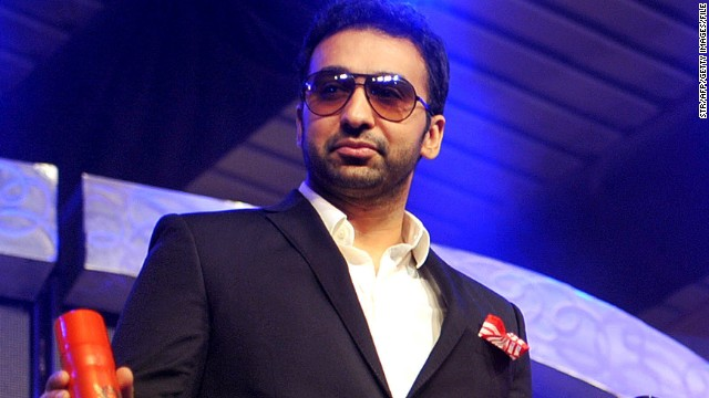 Raj Kundra and his actress wife Shilpa Shetty co-own the Rajasthan Royals franchise in the Indian Premier League.