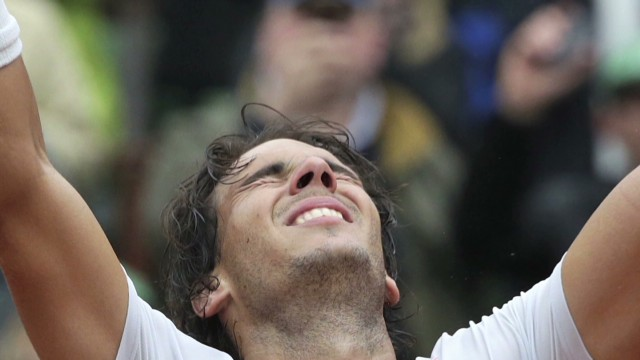 Nadal clinches 8th French Open