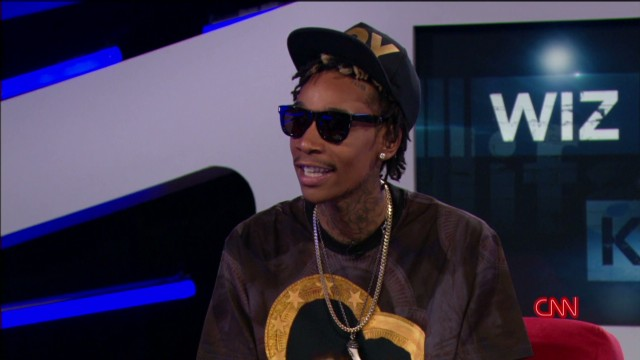Wiz Khalifa on Snoop Dogg and marijuana
