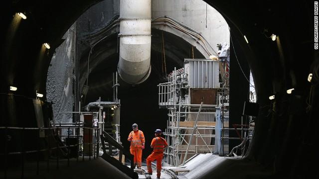 London's Crossrail project
