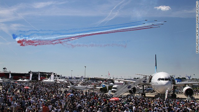 This 2013 Paris Airshow takes place this week. It's the aviation industry's most important event of the year.